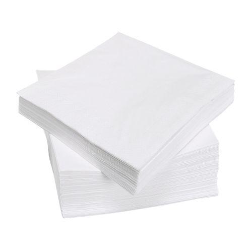 serviettes papier blanches 30x30 lot de 100 ser220033 1 wapeko absorbants et produits. Black Bedroom Furniture Sets. Home Design Ideas